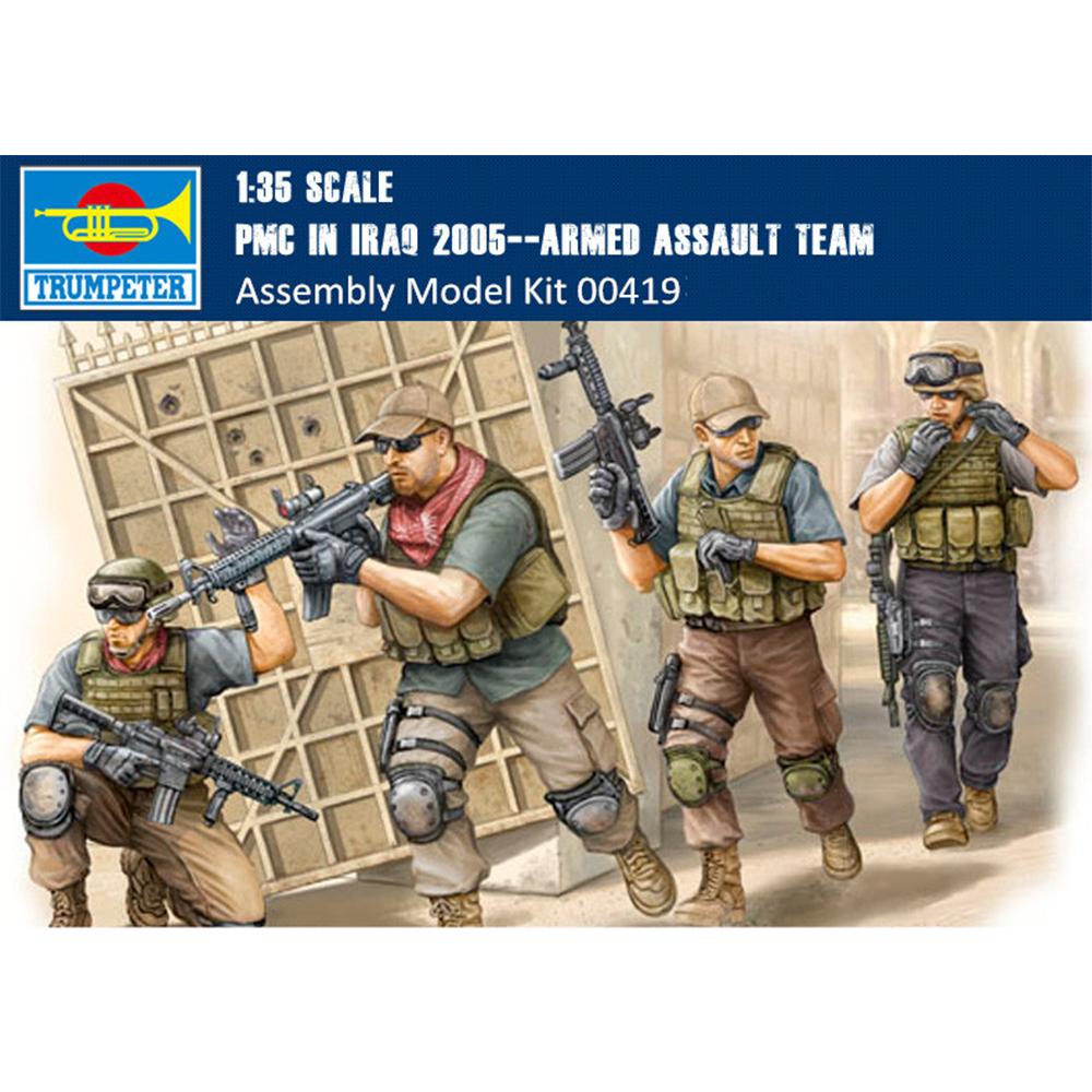 US Army In Iraq 2005 Figure 1:35 Plastic Model Kit TRUMPETER