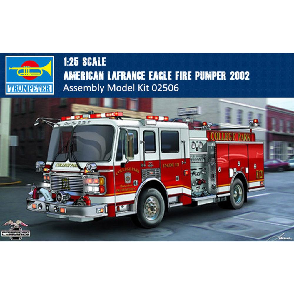 Trumpeter 02506/mod/èle Kit American Lafrance Eagle Fire Pumper 2002