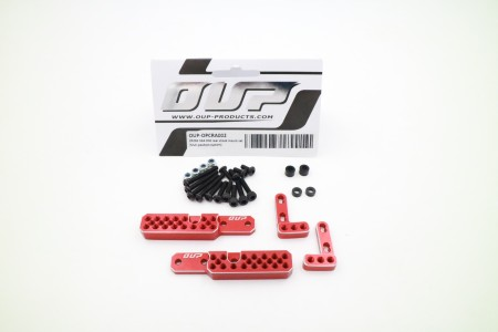 CROSS SG4 CNC rear shock mount set (Muti-position system)