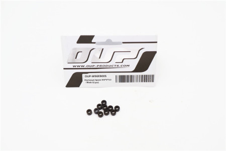 Aluminium Spacer M3*6*3.0 (Black-10 pcs)