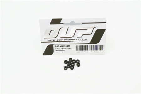 Aluminium Spacer M3*6*2.5 (Black-10 pcs)