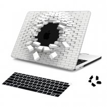 Batianda Unique Crystal Hard Case for New MacBook Air Pro 11 12 13 15 inch 3D Brick
