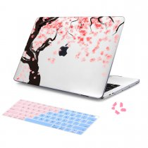 Batianda Unique Crystal Hard Case for New MacBook Air Pro 11 12 13 15 inch Cherry blossoms