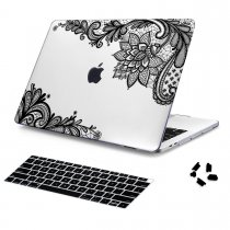 Batianda Unique Crystal Hard Case for New MacBook Air Pro 11 12 13 15 inch Lace