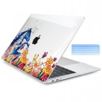 Batianda Unique Crystal Hard Case for New MacBook Air Pro 11 12 13 15 inch Horse