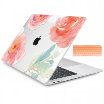 Batianda Unique Crystal Hard Case for New MacBook Air Pro 11 12 13 15 inch flowers