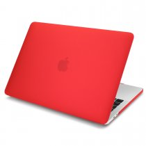 Batianda matte case for macbook air 13 pro 13 15 retina 12 inch red