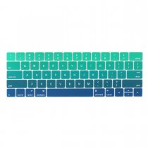 Batianda keyboard cover for new macbook pro 13 15 inch with touch bar green