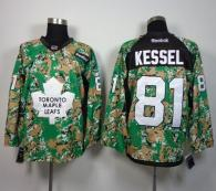 Toronto Maple Leafs -81 Phil Kessel Camo Veterans Day Practice Stitched NHL Jersey