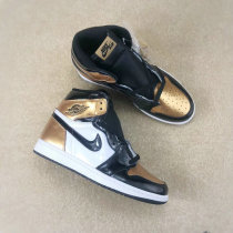 "Authentic Air Jordan 1 OG Retro High ""Gold"
