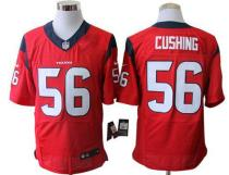 Nike Houston Texans -56 Brian Cushing Red Alternate Mens Stitched NFL Elite Jersey