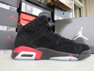 Authentic Air Jordan Retro 6 Black Infrared