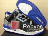 "Perfect Air Jordan 3 ""Sport Blue"""