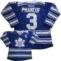 Toronto Maple Leafs -3 Dion Phaneuf Blue 2014 Winter Classic Stitched NHL Jersey