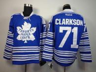 Toronto Maple Leafs -71 David Clarkson Blue 2014 Winter Classic Stitched NHL Jersey