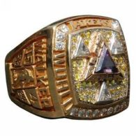 NBA Los Angeles Lakers World Champions Gold Ring_2