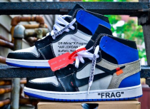 Authentic Off-White x Air Jordan 1 Fragment