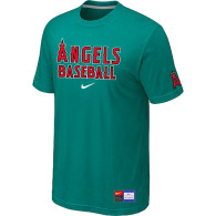Los Angels of Anaheim Green Nike Short Sleeve Practice T-Shirt