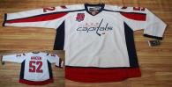 Washington Capitals -52 Mike Green White 40th Anniversary Stitched NHL Jersey