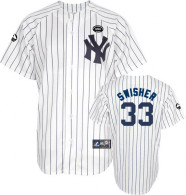 New York Yankees -33 Kelly Johnson White GMS  The Boss  Stitched MLB Jersey