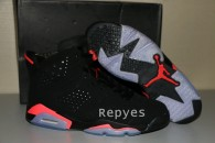 2014 Air Jordan 6 Black lnfrared Perfect