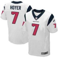 Nike Houston Texans #7 Brian Hoyer White Men's Stitched NFL Elite Jersey