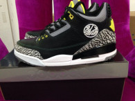 "Perfect Air Jordan 3 (III) ""Oregon Duck""(Black)"