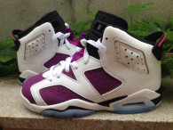 "Super Max Perfect Air Jordan 6 Retro Women ""Bright Grape"""
