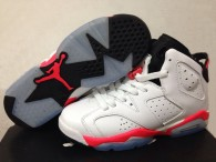 Perfect Air Jordan 6 Retro GS White Red