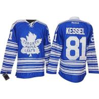 Toronto Maple Leafs -81 Phil Kessel Blue 2014 Winter Classic Stitched NHL Jersey