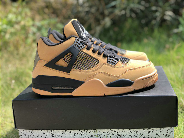 huge discount 51d25 00429 Authentic Travis Scott x Air Jordan 4 Brown