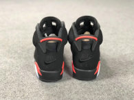 "Authentic Air Jordan 6 ""Black Infrared"" Nike"