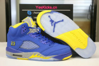 "Authentic Air Jordan 5 Laney ""Varsity Royal"""