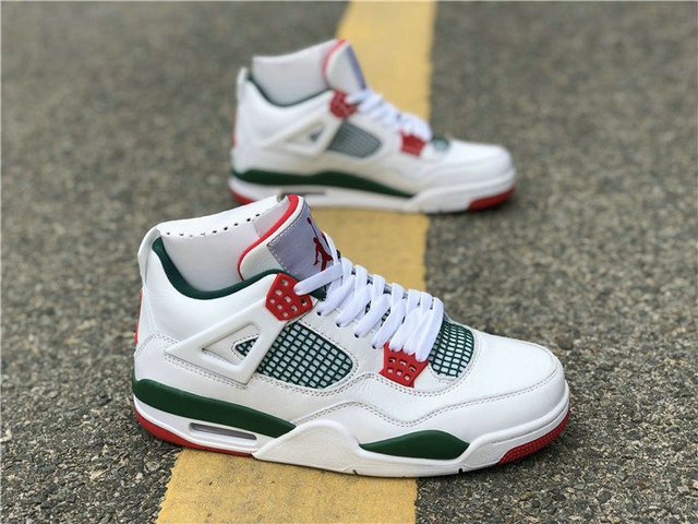 promo code cefeb 7bdd3 Authentic Air Jordan 4 x Gucci White