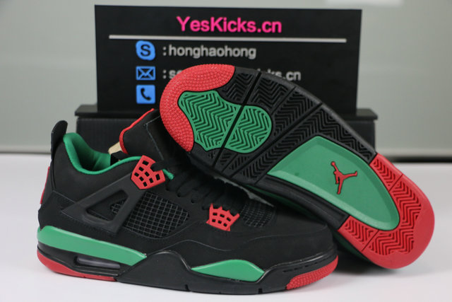 "finest selection b67be f2e78 Authentic Air Jordan 4 NRG ""Gucci"""