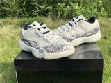 "Authentic Air Jordan 11 Low ""Snakeskin"""