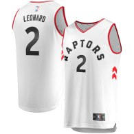 Men's Toronto Raptors Kawhi Leonard White  Jersey - Association Edition
