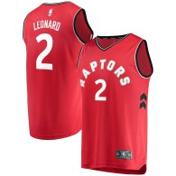 Men's Toronto Raptors Kawhi Leonard Red Fast Break Replica Jersey - Icon Edition