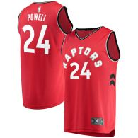 Men's Toronto Raptors Norman Powell Red Fast Break Player Jersey - Icon Edition