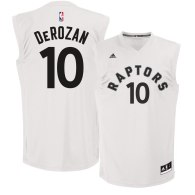 Men's Toronto Raptors DeMar DeRozan White Fashion Replica Jersey