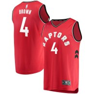 Men's Toronto Raptors Lorenzo Brown Red Fast Break Player Jersey - Icon Edition