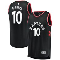 Men's Toronto Raptors DeMar DeRozan Black Fast Break Replica Jersey - Statement Edition
