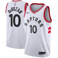 Men's Toronto Raptors DeMar DeRozan Nike Red Swingman Jersey - Icon Edition