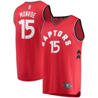 Men's Toronto Raptors Greg Monroe Red Fast Break Replica Jersey - Icon Edition