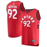 Men's Toronto Raptors Lucas Nogueira Red Fast Break Player Jersey - Icon Edition