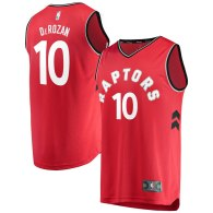 Men's Toronto Raptors DeMar DeRozan  Red Fast Break Replica Jersey - Icon Edition