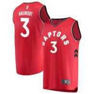 Men's Toronto Raptors OG Anunoby Red Fast Break Player Jersey - Icon Edition