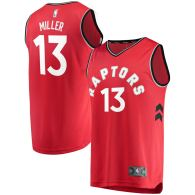 Men's Toronto Raptors Malcolm Miller Red Fast Break Player Jersey - Icon Edition