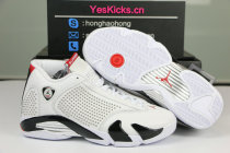 Authentic Supreme x Air Jordan 14 White/University Red