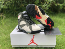 Authentic Patta x Air Jordan 7 OG SP Icicle/Sequoia-River Rock